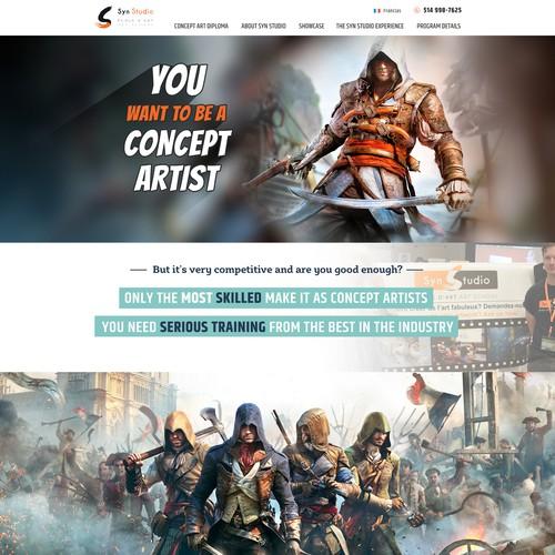 concept artist school