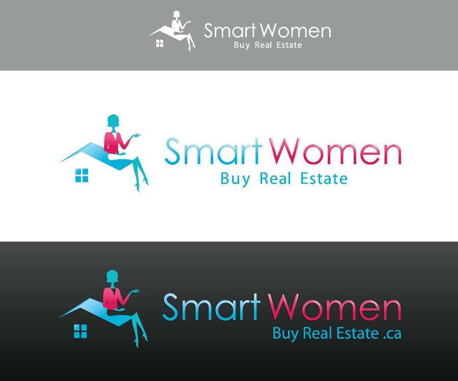 Help Smart Women Buy Real Estate with a new logo