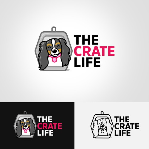 Dog Logo for Podcast