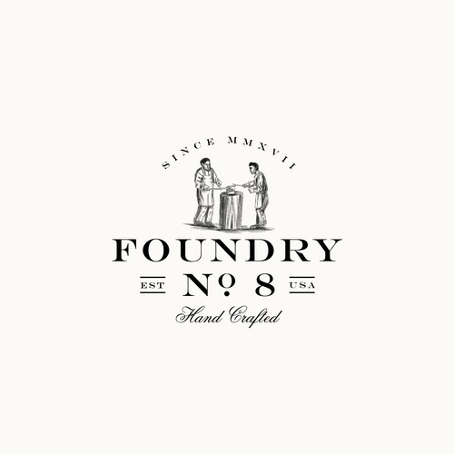 Foundry NO8 logo