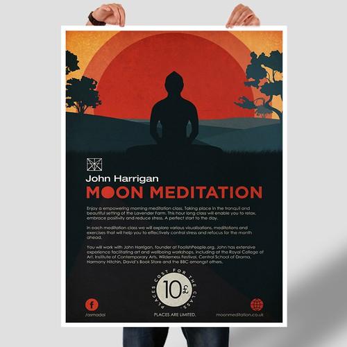 Poster Design for Meditation Classes