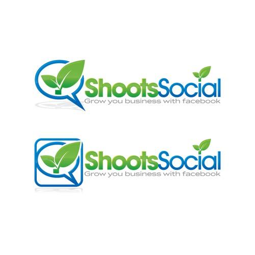 Shoots Social needs a new logo