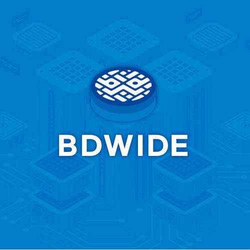 BDWIDE logo design