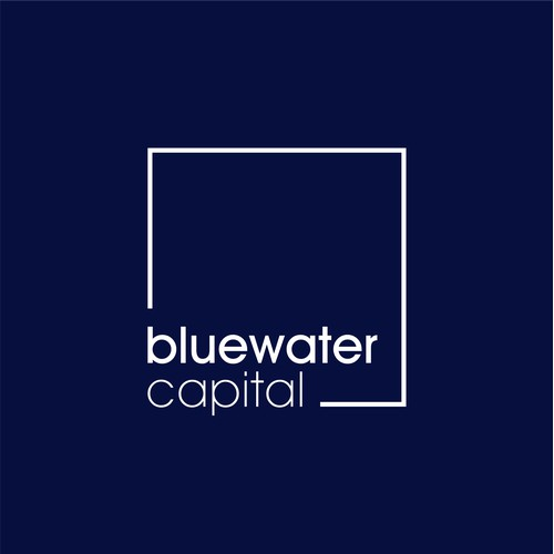 Bluewater Capital - Modern logo for new investment business