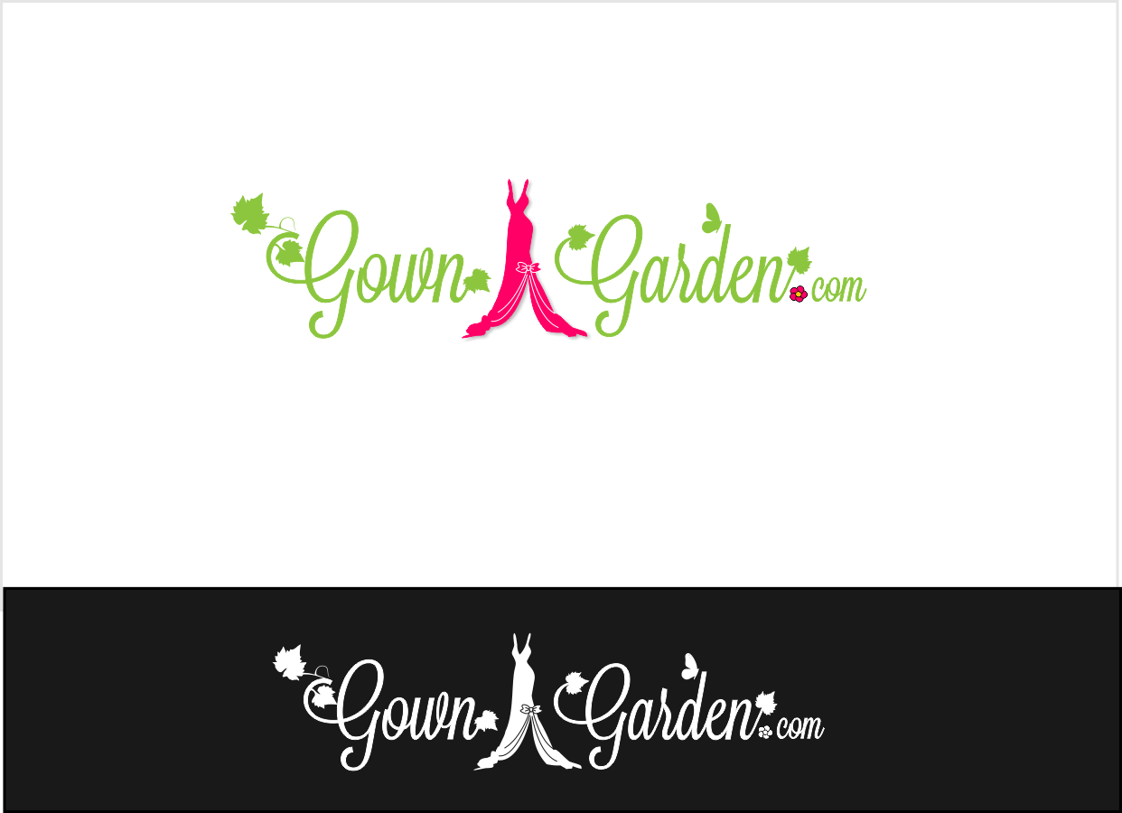 www.GownGarden.com needs a new logo