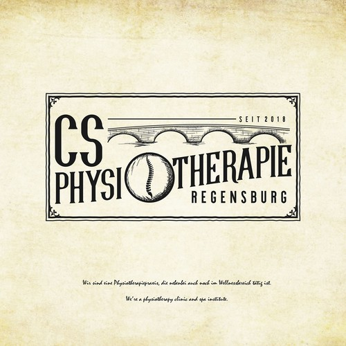 Logo concept for CS PHYSIOTHERAPIE