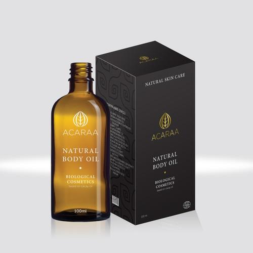 Natural body oil
