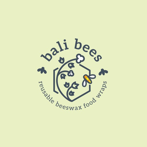 Logo for Bali Bees.