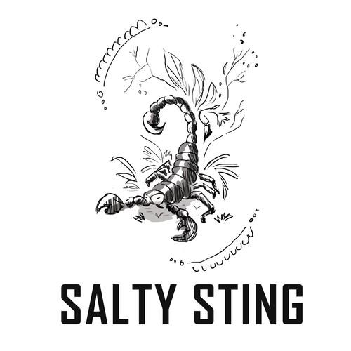 logo for foodies,seasoning seller.