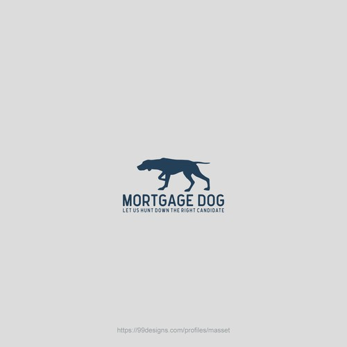 Cool simple logo for Mortgage Dog