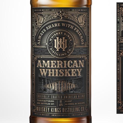 American Whiskey by WHISKEY KINGS.