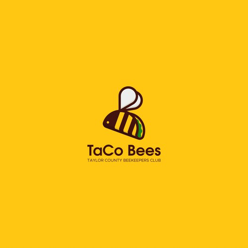 Winning logo for TaCo Bees