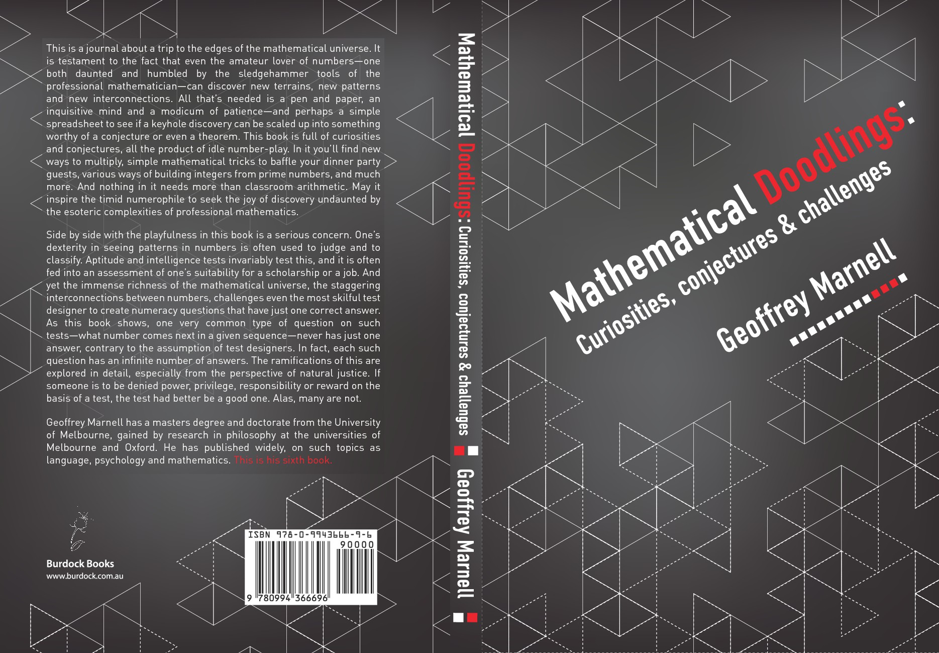 Book Design — Recreational Mathematics