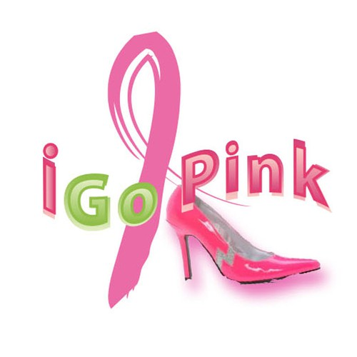 Create a new T-shirt design for iGoPink, a fabulous non-profit supporting breast cancer awareness!