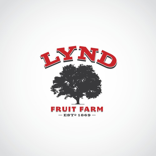 Create the next logo for Lynd Fruit Farm