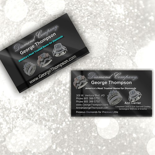 Help George Thomson Diamond Co. with a new stationery