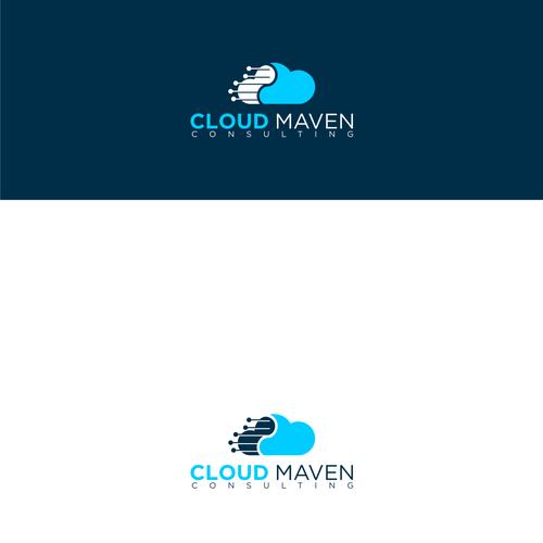 Cloud Maven Consulting - New Tech Company Needs a Kick-Ass Logo!