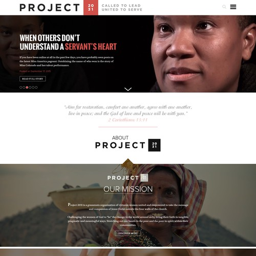 Grassroots Women Empowerment Organization Seeks Website Design