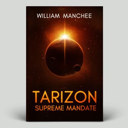 'Tarizon: Supreme Mandate' Book Cover Design