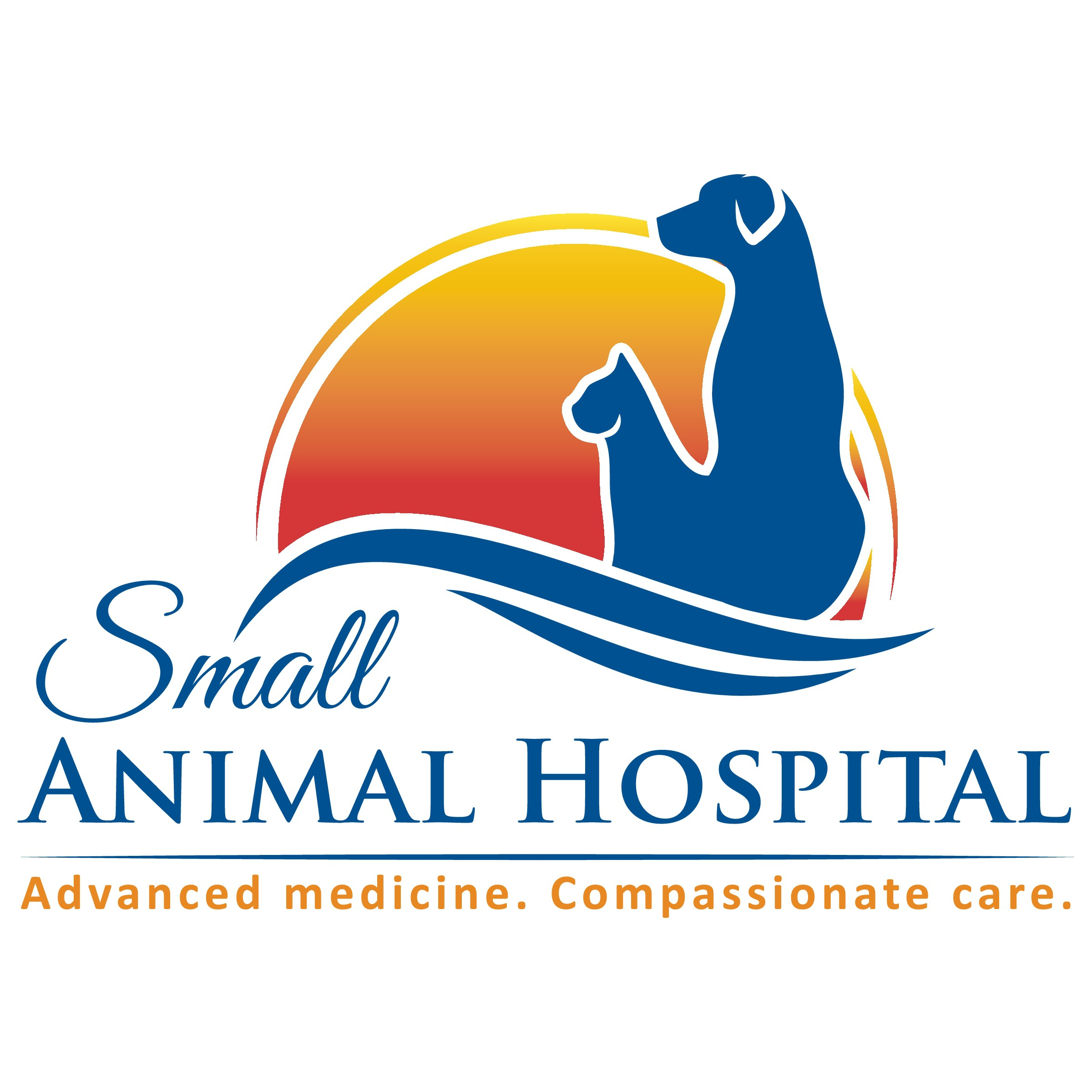 Create a warm, clean logo for an established veterinary practice