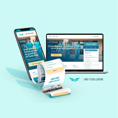 UEI College Landing Page
