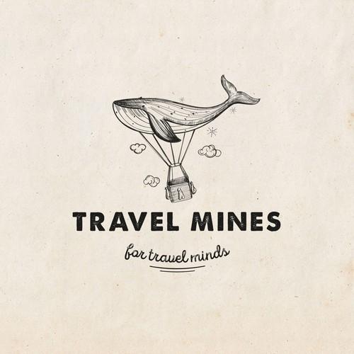 Logo for travel mines