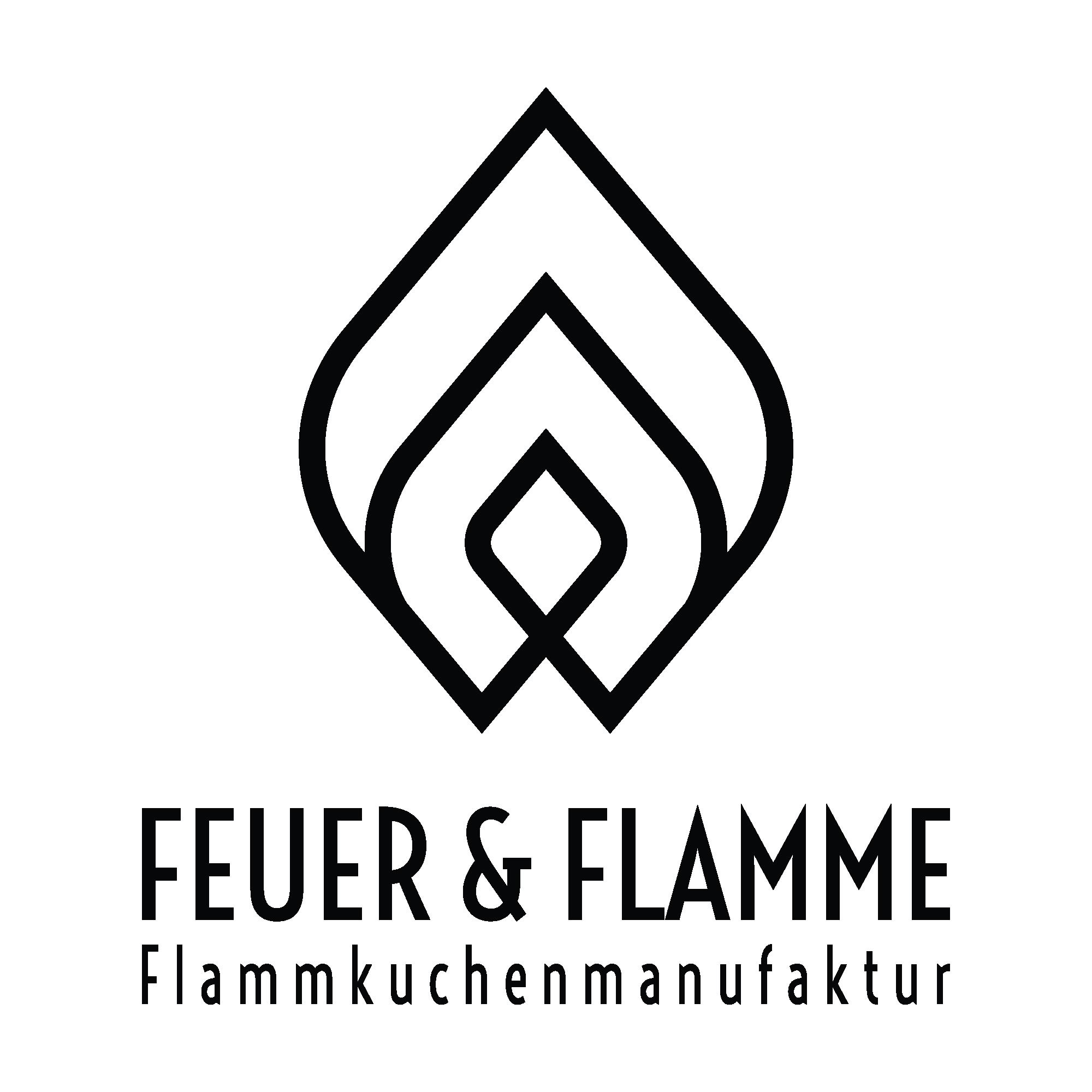 Logo für unsere gehobene Slow-Food Flammkuchenmanufaktur im hippen Szeneviertel Kölns.
