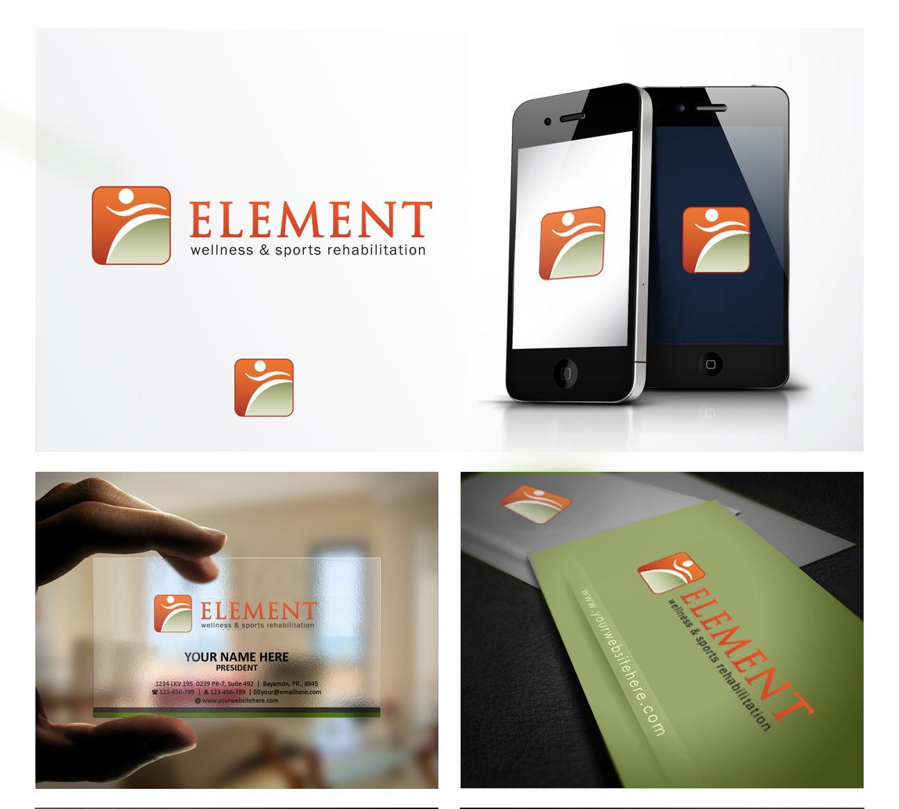 New logo wanted for Element Wellness and Sports Rehabilitation