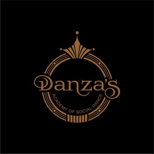 creative logo for Danza's
