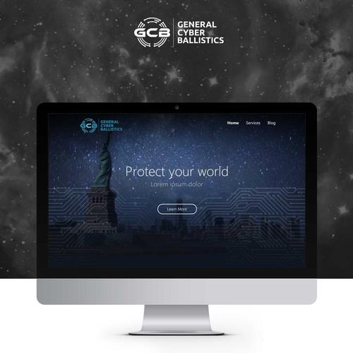Digital security company website