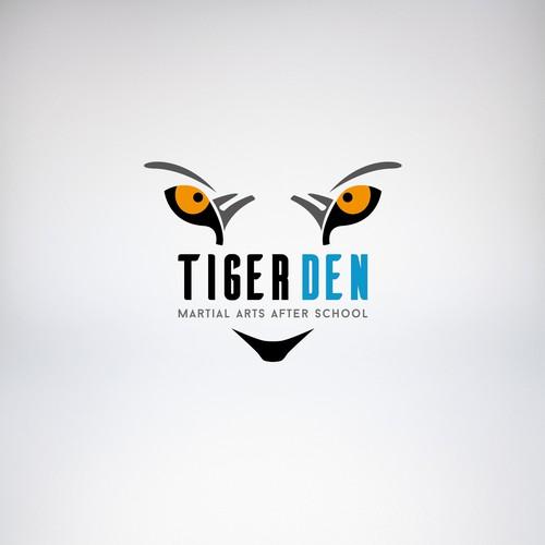 Logo concept for martial arts school