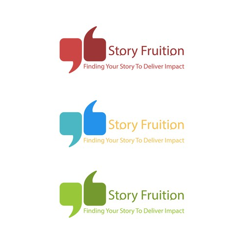 Logo concept for Story Fruition