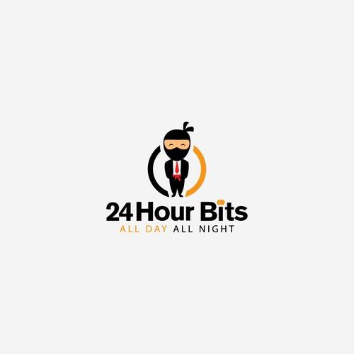 24HourBits - Modern Design