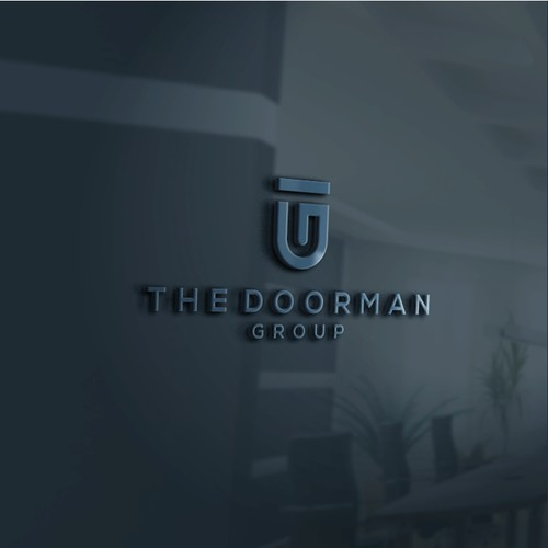 logo for the doorman group
