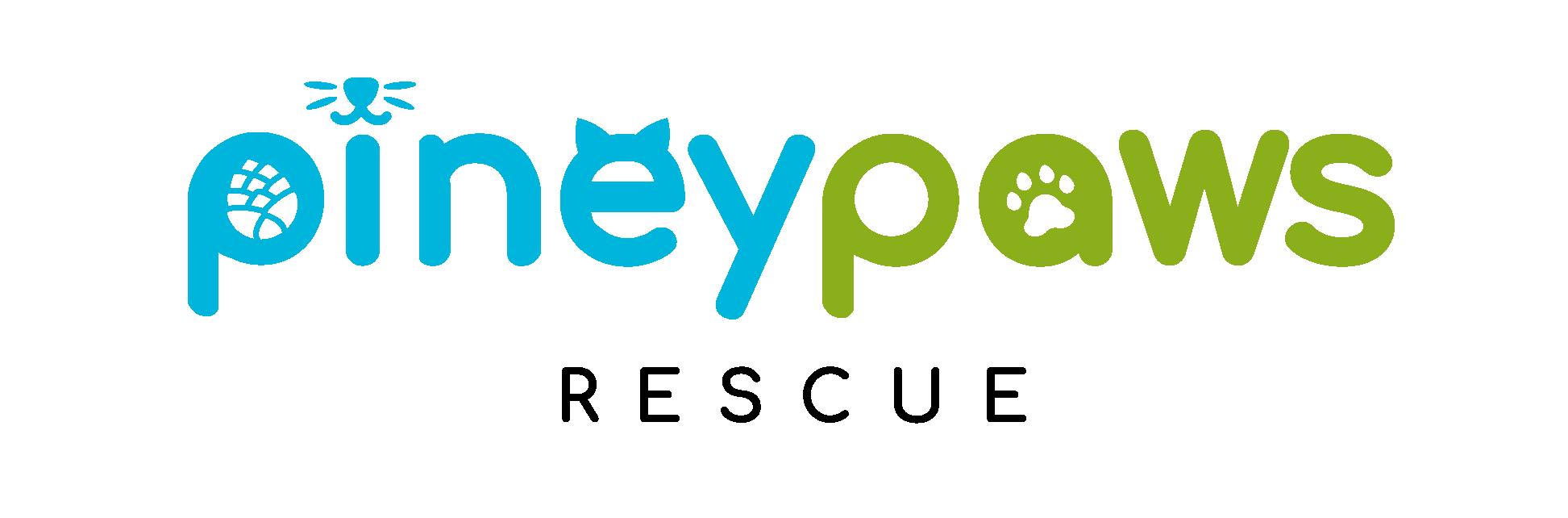 Help the tiny paws!  Piney Paws Rescue needs logo