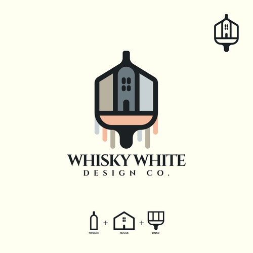 Whisky White Design Co. Logo