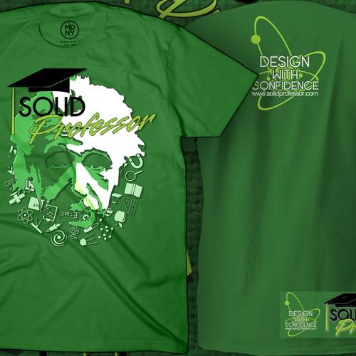 Solid Professor Website T-Shirt