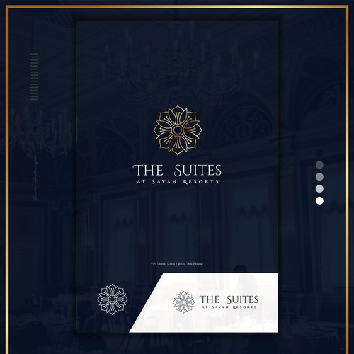The suites logo concept