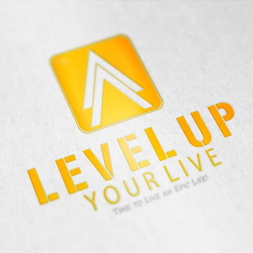 Create the new logo for Level Up Your Life