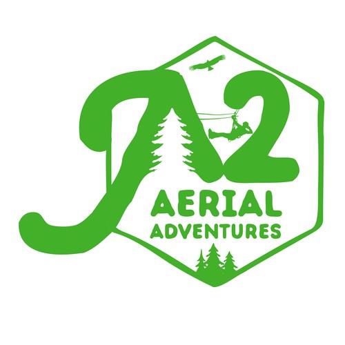 A2 Aerial Adventures logo