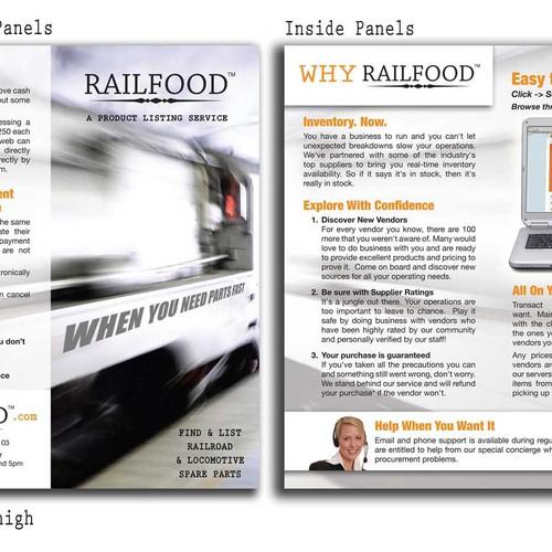 Brochure/print design for industrial site
