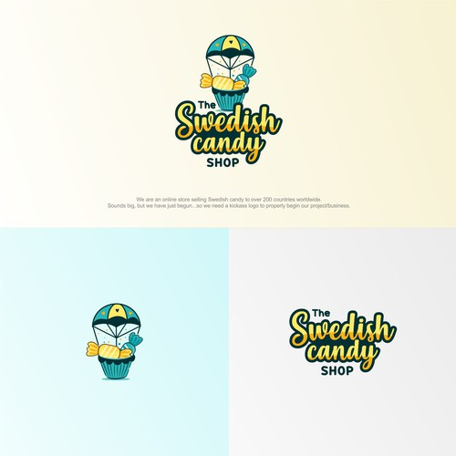 Logo concept for swedish candy