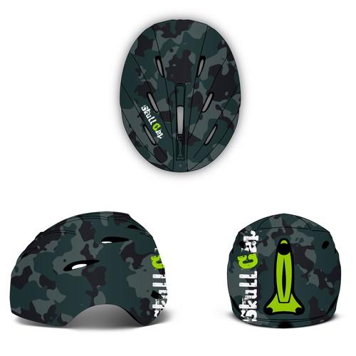 Camo Ski Helmet