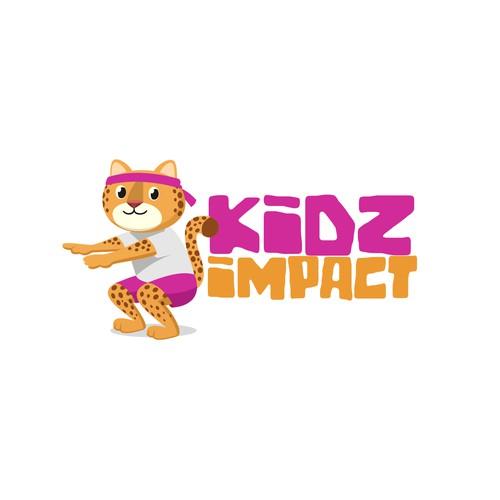 Kids Impact Logo Concept