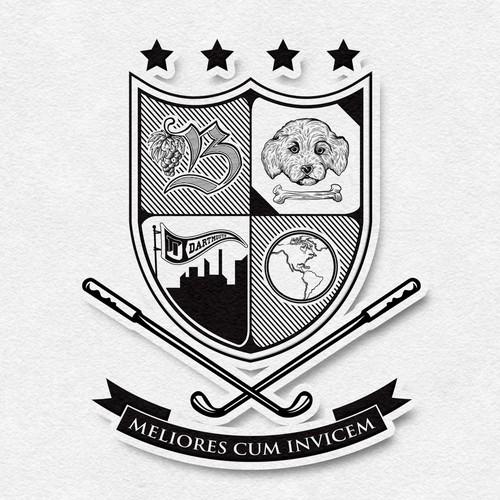 Crest Illustration