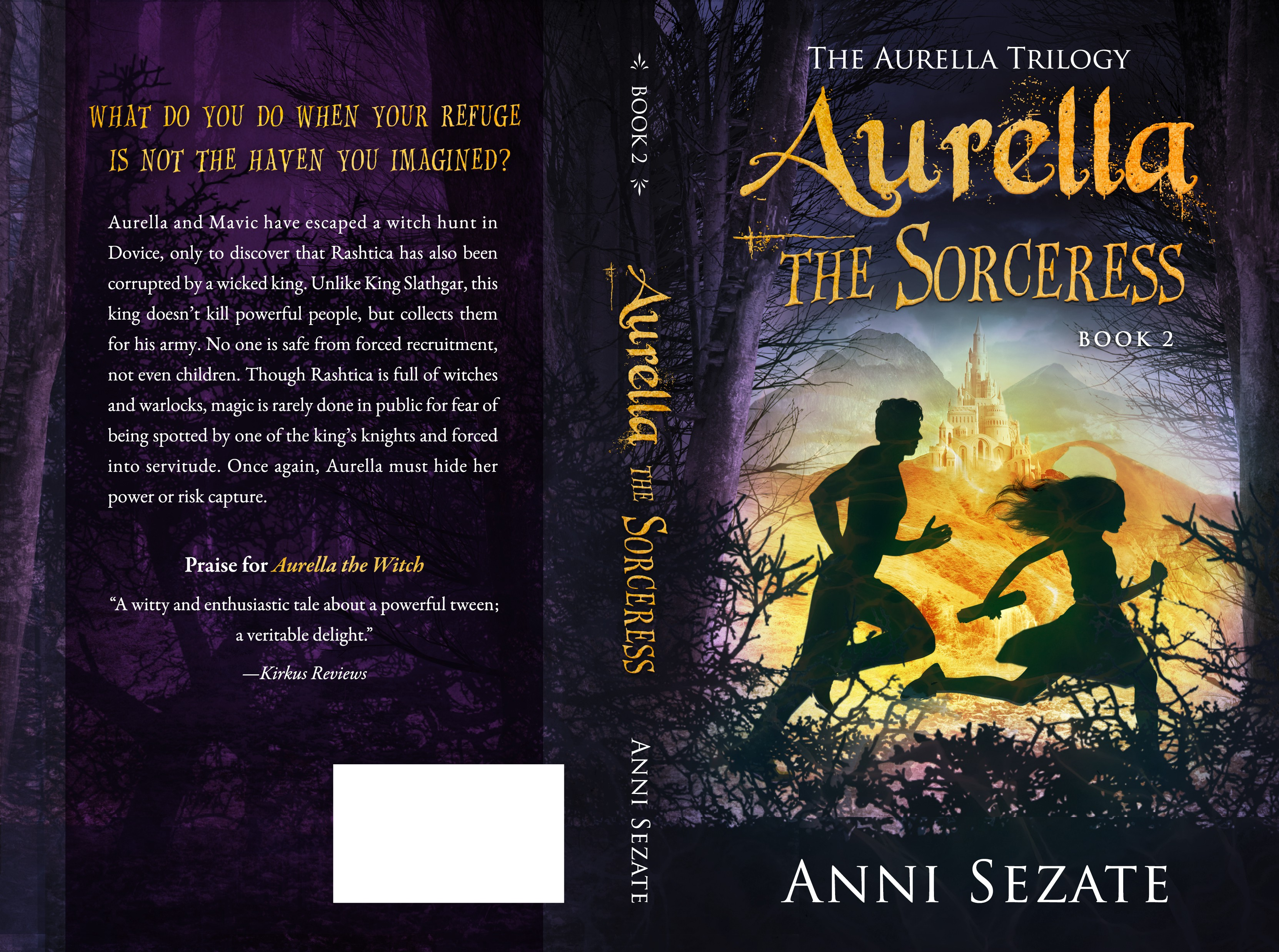 Design a thrilling book cover for a fantasy series!