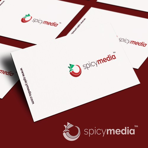 Logo for spicy media