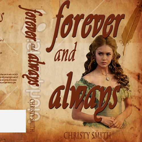 """Forever and Always"" needs a new Book Cover Design"
