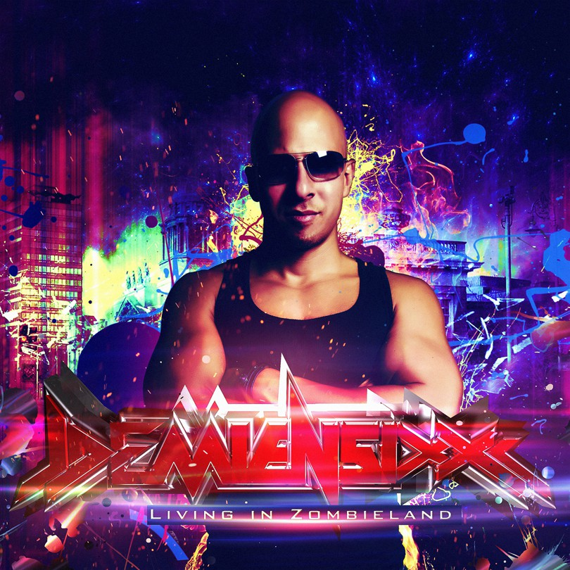 CD Album Cover Design Wanted For Demien Sixx
