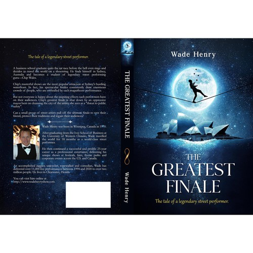 'The Greatest Finale' book cover